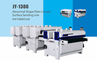 JY-1300 Anisotropic surface sanding machine